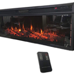 Electric Fireplace with Remote (48 Inches)