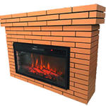 Electric Fireplace with Remote (28 Inches)